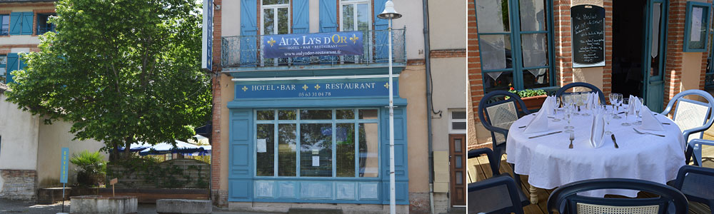 Aux Lys d'Or restaurant traditionnel à Réalville proche de Montauban dans le 82