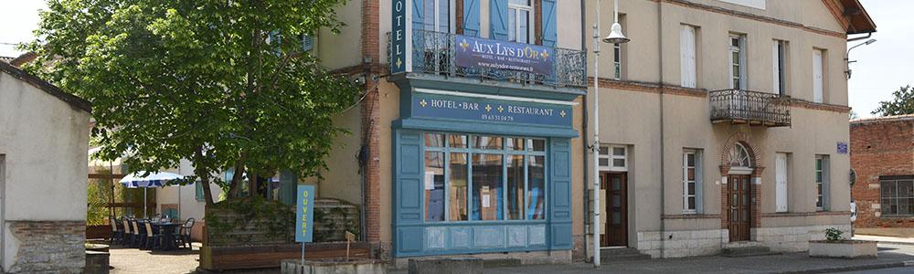 Hôtel bar et restaurant à Réalville